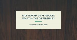 MDF Board vs Plywood: What is the Difference?